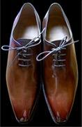 Glaçage chaussures cuir, exemple 3
