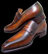 Patine chaussures cuir, exemple 2
