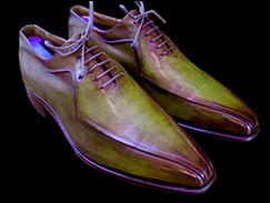 Patine chaussures cuir, exemple 3